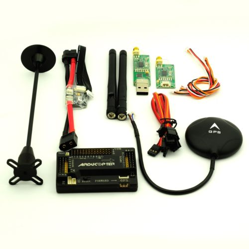 цена на 2016 High Quality APM 2.8 ArduPilot Flight Controller & 6M GPS 433Mhz Telemetry Power Module