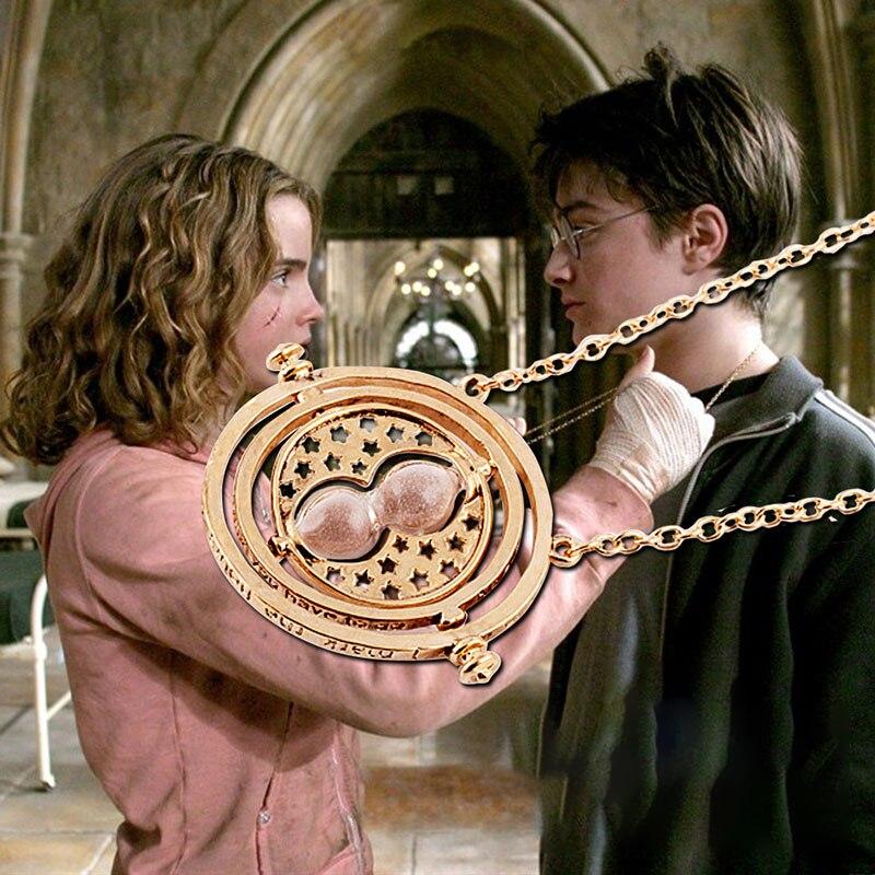 Harri פוטר מוצרים היקפיים הרמיוני זמן ממיר שרשרת דגם סרט 1/1 התאוששות זוג מתנות