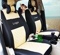 Cubierta de asiento de coche Universal para Hyundai solaris ix35 ix25 i30 Elantra MISTRA GrandSantafe acento tucson accesorios del coche etiqueta