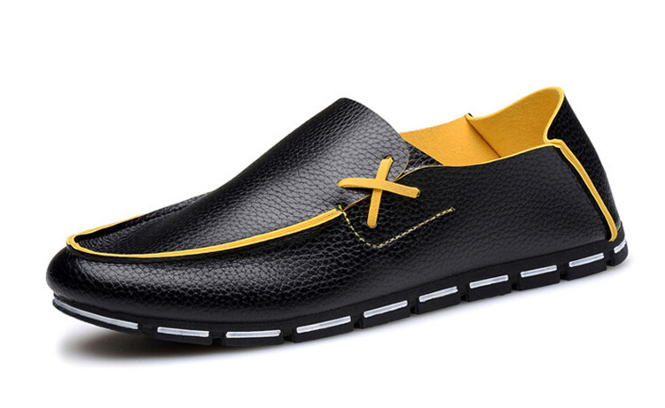 Men Leather Shoes 2016 New Lazy Shoes Brand Designer Driving Shoes Flats Loafers For Men