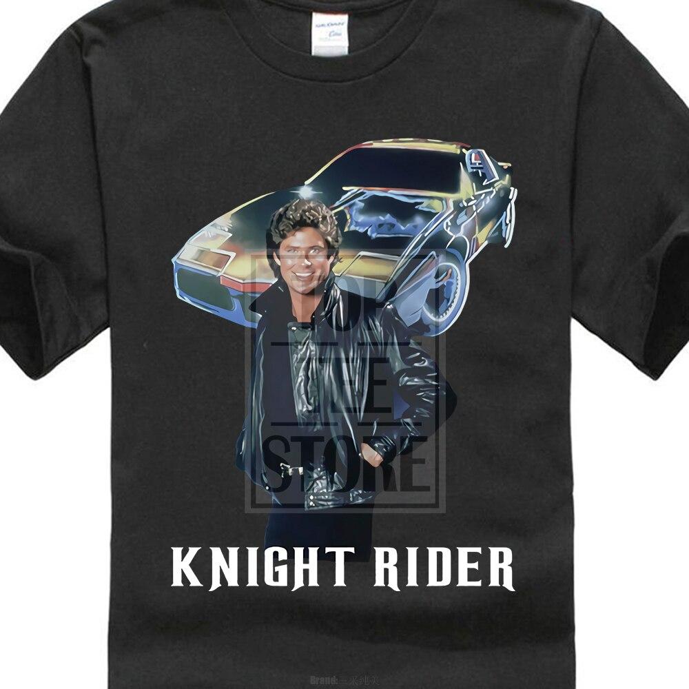 Knight Rider Series Michael David Hasselhoff Ver 1 T Shirt S 5Xl