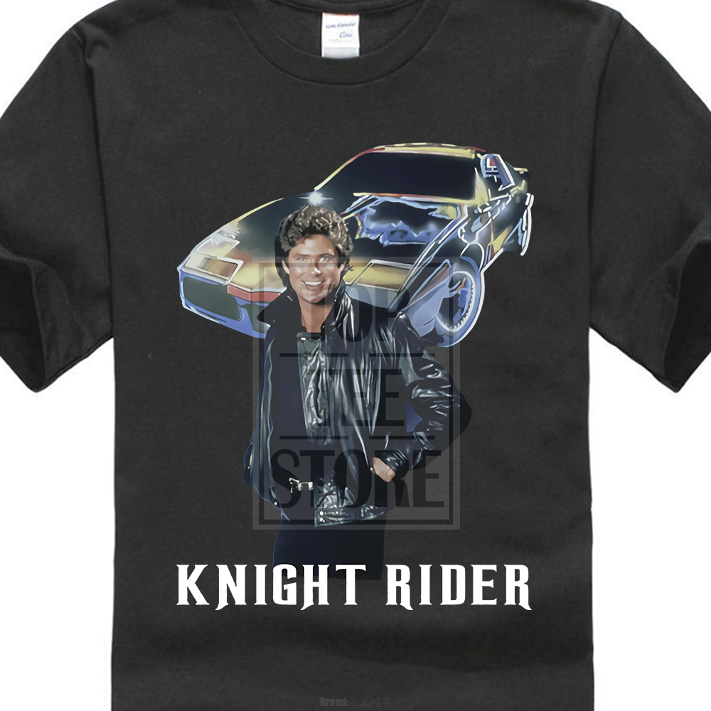 Knight Rider Series Michael Knight David Hasselhoff Ver 1 T Shirt S 5Xl