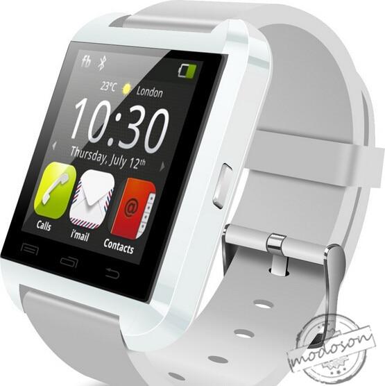 imágenes para Bluetooth smart watch u8 reloj smartwatch para samsung htc huawei mtk6261 sony xiaomi smartphones android pk gt08 a1 dz09