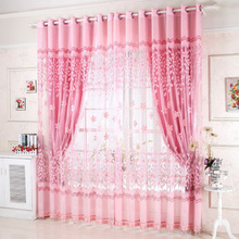On Sale Ready made Window Curtains For Living Room Bedding Room Luxury Curtain Tulle For Hotel