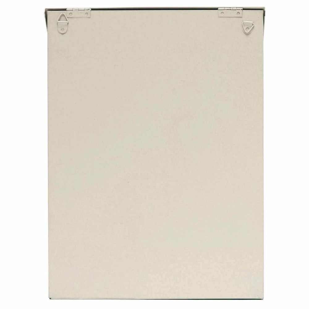 Винтажный металлический внешний почтовый ящик оловянный кованый почтовый ящик, оловянный винтажный Металлический Настенный почтовый ящик, орнамент, садовый Настенный декор