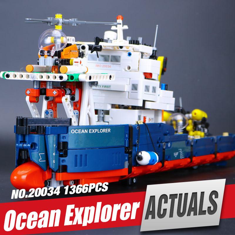 ФОТО Lepin 20034 1347pcs Genuine New Technic Series The Searching Ship Set Educational Building Blocks Bricks Toys  42064