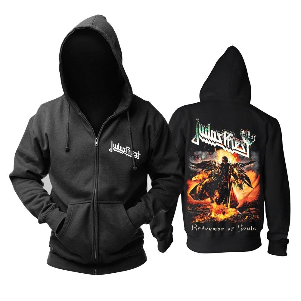 12 видов крутых клинок Judas Priest Rock черная толстовка с капюшоном в виде ракушки куртка Панк Череп Демон металлический свитшот на молнии Sudadera 3d принт - Цвет: 12