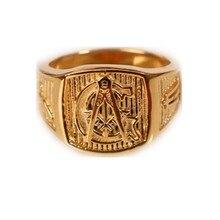 Фотография Gold Tone Freemason Men