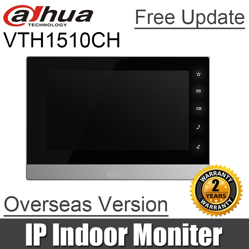Dahua video intercom VTH1510CH IP Indoor Monitor built in SD calrd slot H 264 original DH