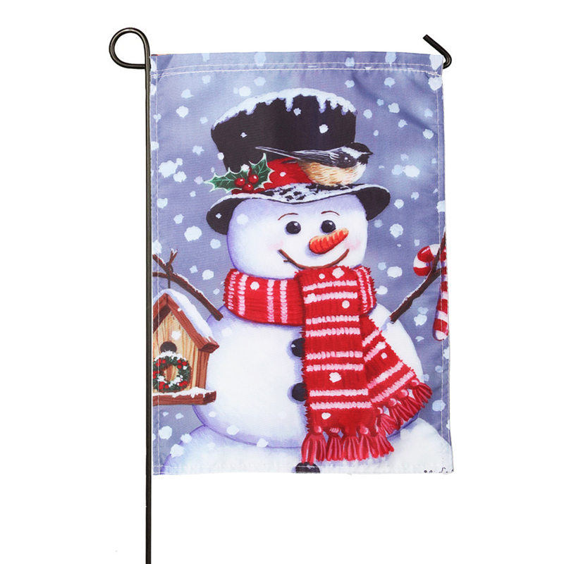 Ezlife Shining Christmas Snowman Toy Outdoor Indoor Ornament Merry Xmas Cute Tree House Hanging Decoration With Light Mj01058