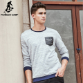 Pioneer Camp Brand-clothing Hoodies men High quality fashion casual male hoodies Spring autumn designer men sweatshirt 622138