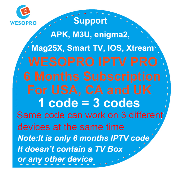 US $21 43 |USA Canada UK IPTV Subscription English live TV channels for H96  X96 T95 A95X TX3 mini Android TV Box M3U Smart TV Enigma 2 Box-in Set-top
