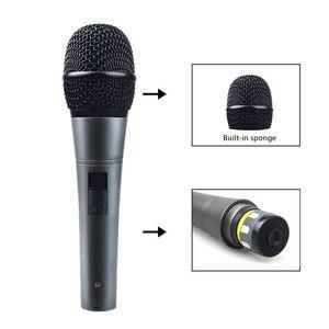 Image 3 - MAONO K04 Professionale Microfono Dinamico Cardioide Vocal Wired MICROFONO Con Cavo XLR Plug And Play Microfone per la Fase Karaoke KTV