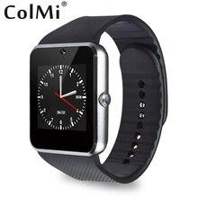 Colmi Smartwatch Bluetooth Uhr GT08 Mit TF SIM Karte Verbunden Android Telefon Mit Passometer Armbanduhr PK iwo dz09 Smartwatch