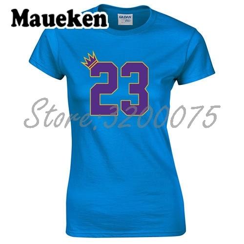 wholesale dealer 09a82 4c9c3 Detail Feedback Questions about Women T Shirt King GOAT 23 ...