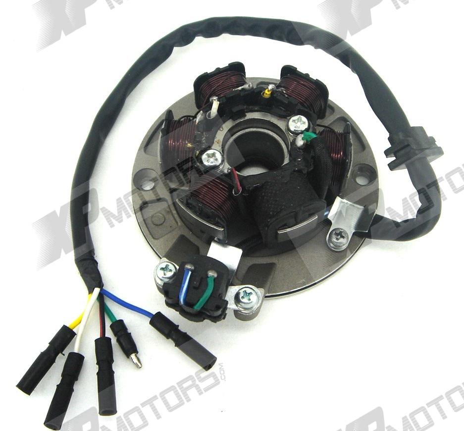 MAGNETO STATOR PLATE 125CC-150CC KICK START for LIFAN/YX датчик lifan auto lifan 2