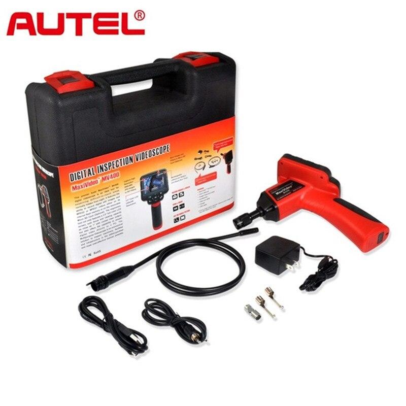 De diagnostic Videoscope Caméra Autel Maxivideo MV400 8.5mm Numérique Inspection Endoscopique Endoscope Diamètre Tête Imageur
