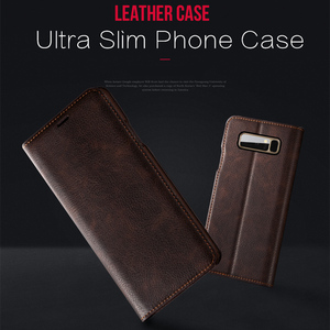 Image 2 - Musubo Ultra Slim Phone Case For Samsung S9 Plus S9+ Coque Genuine Leather Luxury Cases Cover Galaxy S8+ S8 Plus Flip Capa Card