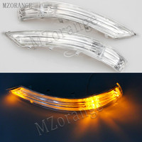 MZORANGE Rearview Mirror LED Turn Signal For VW Touareg 2008 2010 Door Turn Signal Left 7L6