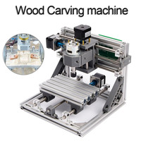 CNC 1610 Standard Mini CNC Router Engraving Machine DIY Parts PCB PVC Milling Machine Wood Carving