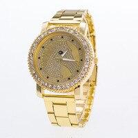Fashion Casual Women S Quartz Wristwatches Luxury Women S Bracelet Watch Relogio Feminino Golden Horse Clock