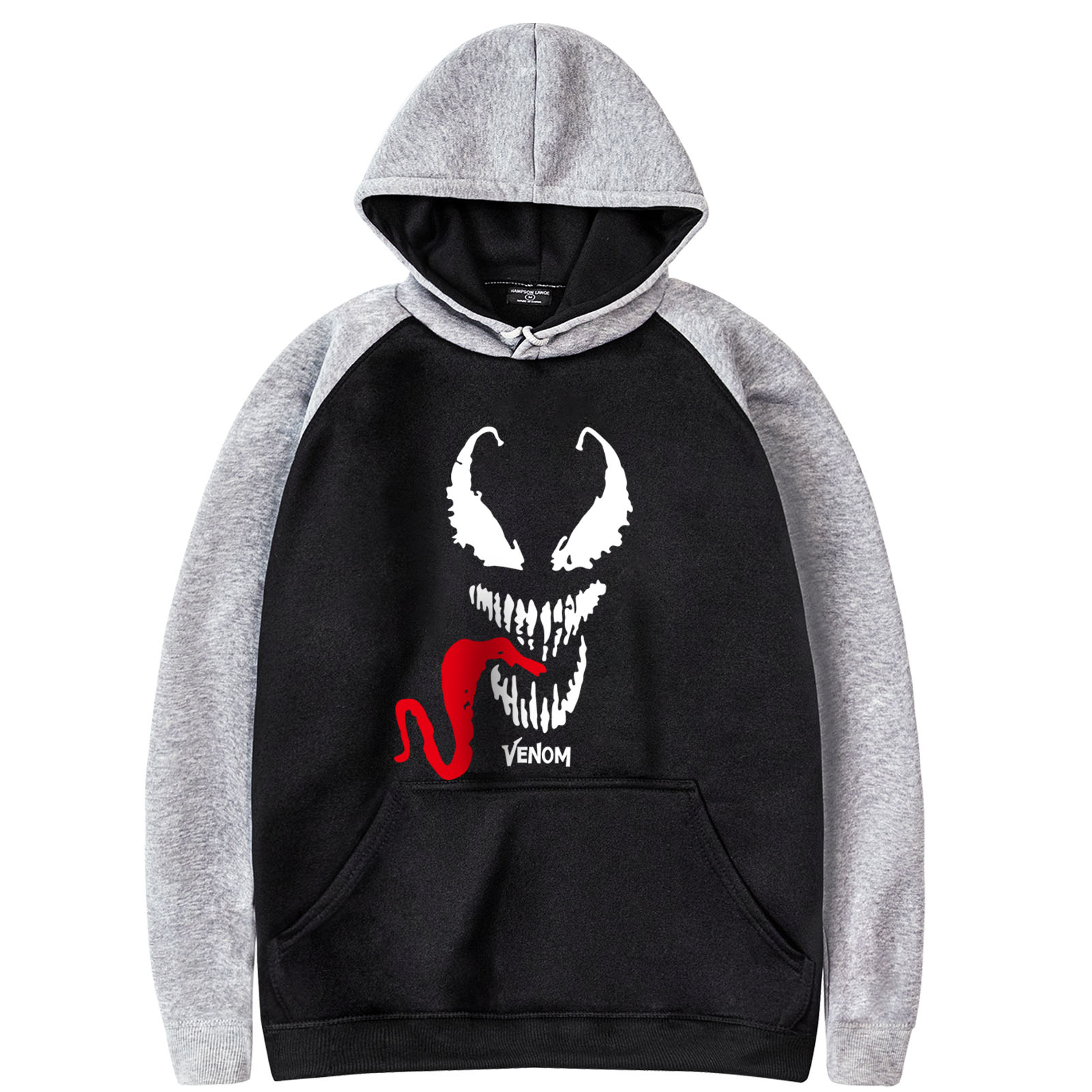 Venom Fashion Printed 2019 Spring Hot Selling Man Sportswear Harajuku Top Rock Tracksuit Young New Arrival Raglan Hoodies Tops