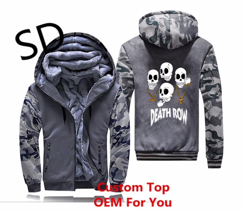 Manteau 3d Veste Hommes Hip dark Gray Gray Tops Heavy Sweats D'hiver Hombre Records Sweat navy Blue Metal Hop Row shirt Dropshipping Zipper Hoodies Death 6wRqn8dvv