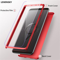 buy online 1200b 74d95 360 Full Degree Cover Phone Case For Samsung Galaxy A6 A8 Plus J6 J4 2018  A3 A5 A7 J3 J5 J7 J2 Prime 2017 2016 Cases With Glass