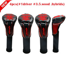 Golf cover driver fairway wood putter headcover  clubs covers free shipping