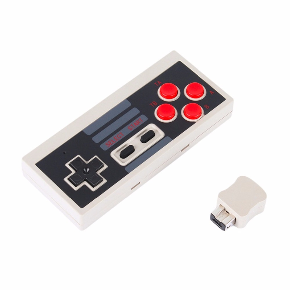 wireless gaming controller for Nintendo NES Mini Buttons Classic Edition With Wrireless Receiver
