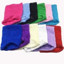Tube Tutu avec Crochet doux doublé pour filles, 20x20cm, 8 pouces, fait à la main, enveloppé de poitrine, accessoires de robe, cadeaux