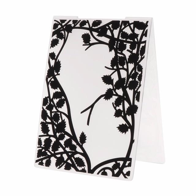 Plastic Embossing Folder Template for DIY Scrapbook Photo Album Card Paper Craft Frame--Y142