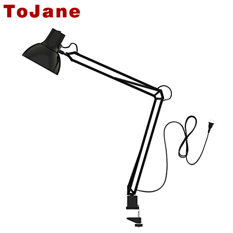 Tojane Tg600 Long Swing Arm Desk Lamp Architect Clip On