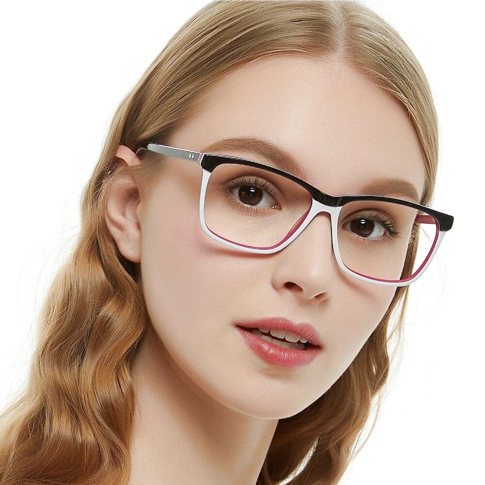 e4f93ffc73c1 OCCI CHIARI Fashion Big rim Eyeglasses 54cm For Women Spring Hinge  Prescription Lens Medical Optical Glasses Frame W-ZOPPI