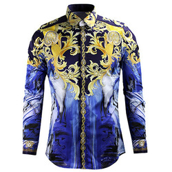 New designer men casual long sleeve shirts men shirt men slim fitness male cotton floral shirt.jpg 250x250