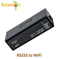 Последовательный порт RS232 на устройство Wi-Fi Серверный модуль Elfin-EW10 поддержка TCP/IP Telnet Modbus TCP протокол передачи данных через WiFi