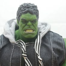 2018 Hot sale -New superhero figure Hulk action model toys big size 42cm(China)