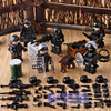 DR TONG 60PCS LOT MILITARY Soldier Army WW2 Weapon Soldier Figures Educational Collection Building Blocks Children