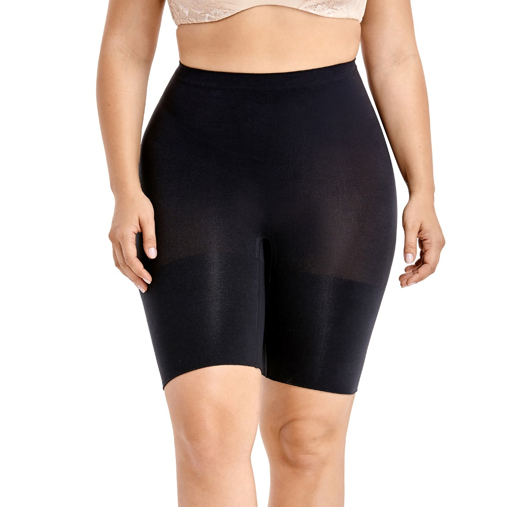 Plus size shapewear Thigh Slimmer Shapewear Shorts Women's Tummy Control Panties