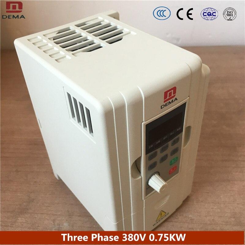 Дема D5M серии поток на линии конвейера специальные 0.75KW Мощность преобразователь частоты 380 В 3 фазы Вход частоты инвертор