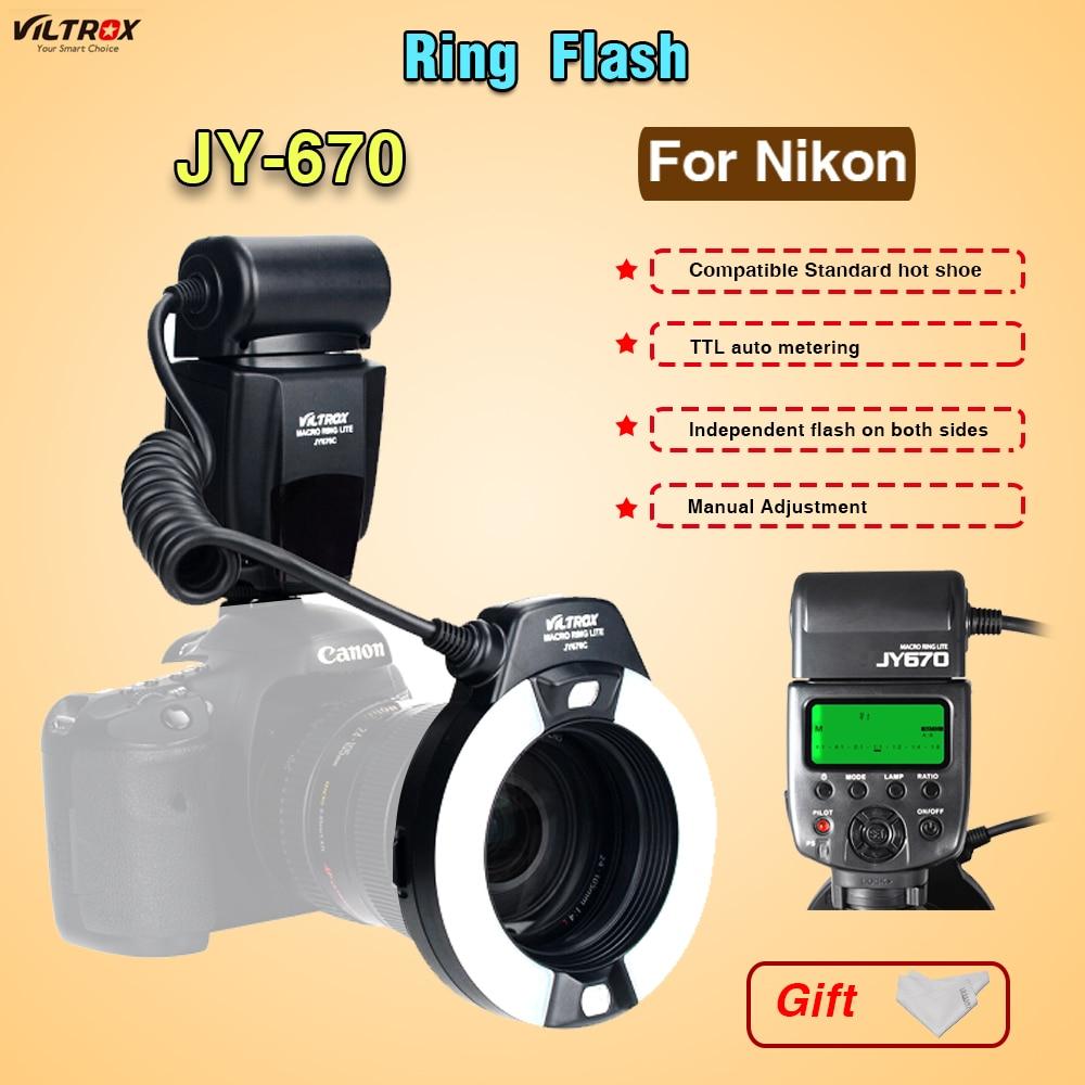 Macro Kit Flash Ring Viltrox JY-670 a prodlužovací trubka makra - Videokamery a fotoaparáty - Fotografie 2