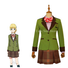 Anime Tada Never Falls in Love Tada-kun wa Koi o Shinai Teresa Wagner Cosplay Costume