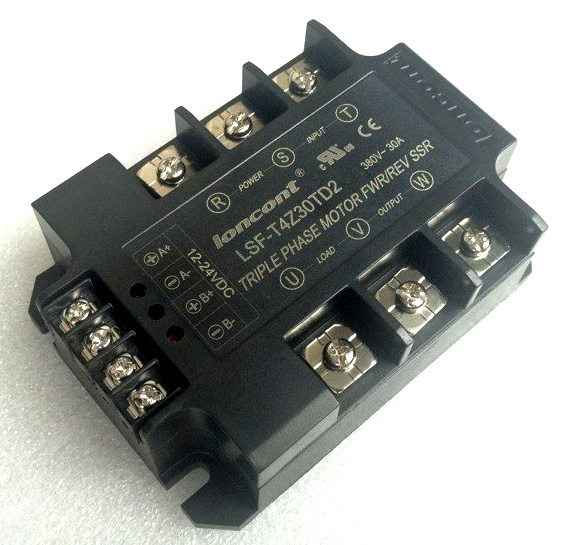 Intelligent Three-phase AC Motor Positive and Negative Solid State Relay Module 15AIntelligent Three-phase AC Motor Positive and Negative Solid State Relay Module 15A