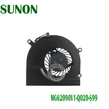 "new original laptop cooling fan for Apple MacBook Pro 15"" A1286 notebook CPU Fan P/N:MG62090V1-Q020-S99 4PIN SUNNON 5V 1.1W(China)"