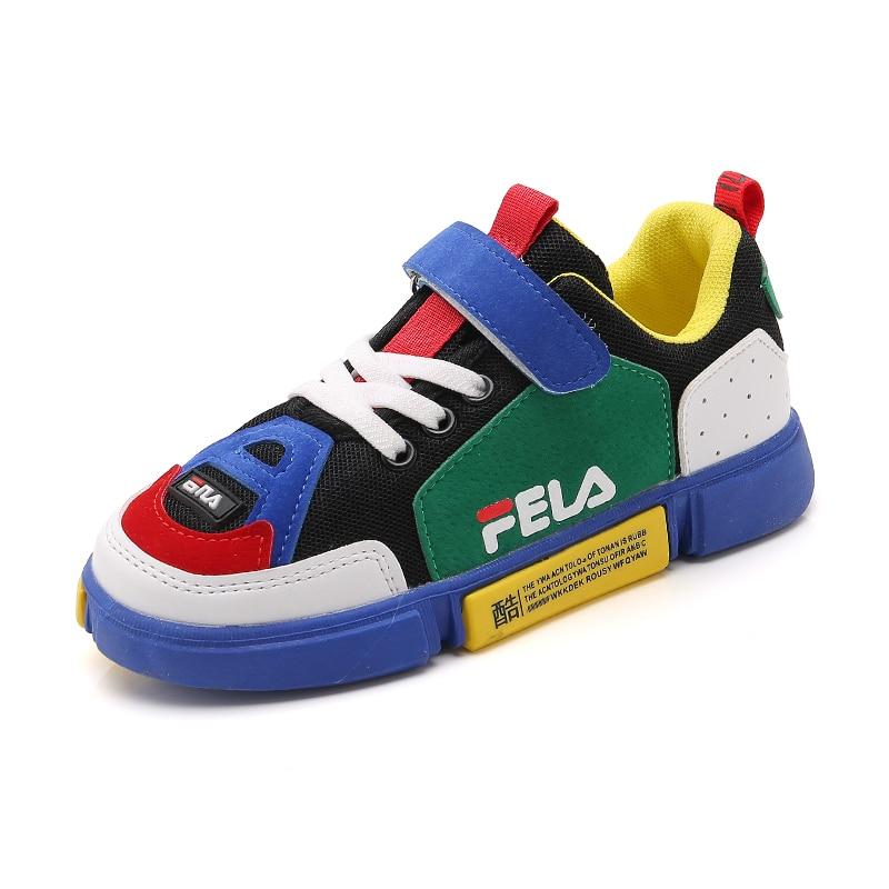 Kids Boys Girls Outdoor Sport Sneakers