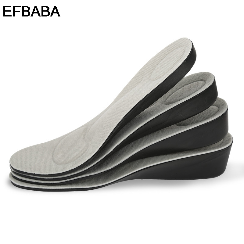 EFBABA Increased Insoles Pads Flat Foot Arch Support Sweat Absorbent Breathable Damping Insoles Orthopedic Shoes Pad Accessories
