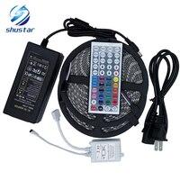 10M Rgb Led Strip 5050 Waterproof 2 5m Smd Strip Lighting 44 Key IR Remote Controller