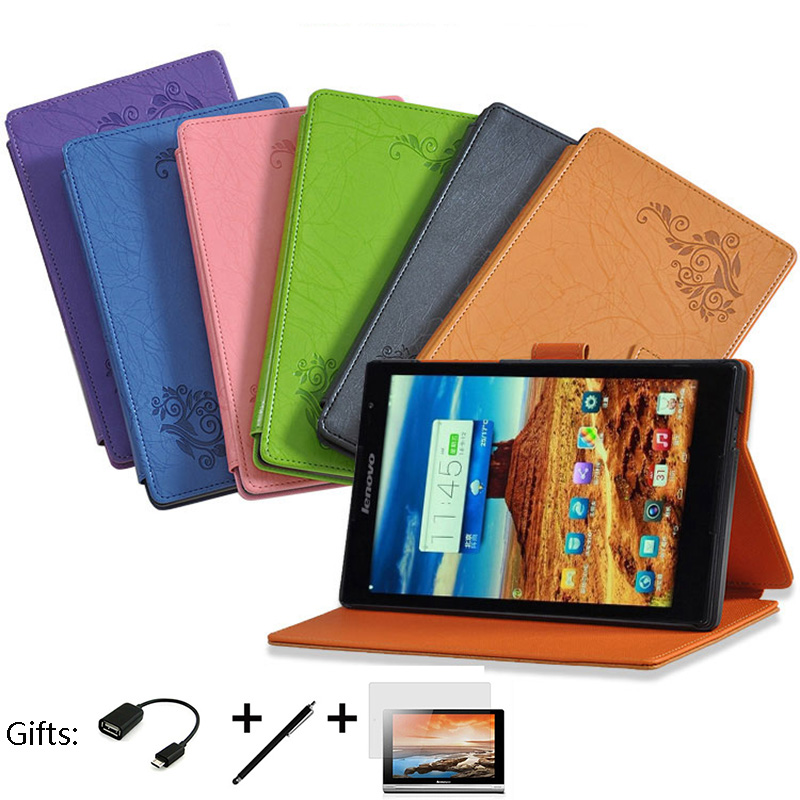 super popular ea95f 76c22 US $12.88 |Original Flip Cover for Lenovo TAB S8 S8 50 S8 50F S8 50LC Stand  Tablet Leather Case Magnetic Smart Awakening Protective Shell-in Tablets &  ...