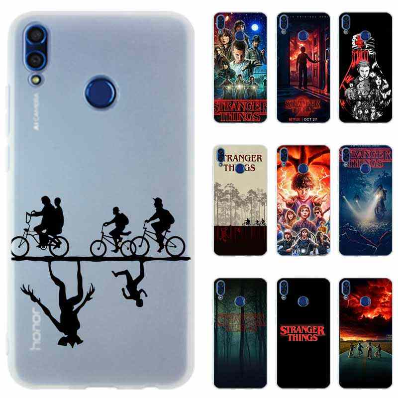 STRANGER THINGS Silicone Phone Case Cover For Huawei Honor 9 10 Lite 6X 7X 8X Max 7a pro 8a 8C V20 PLAY 10i 20i Hot