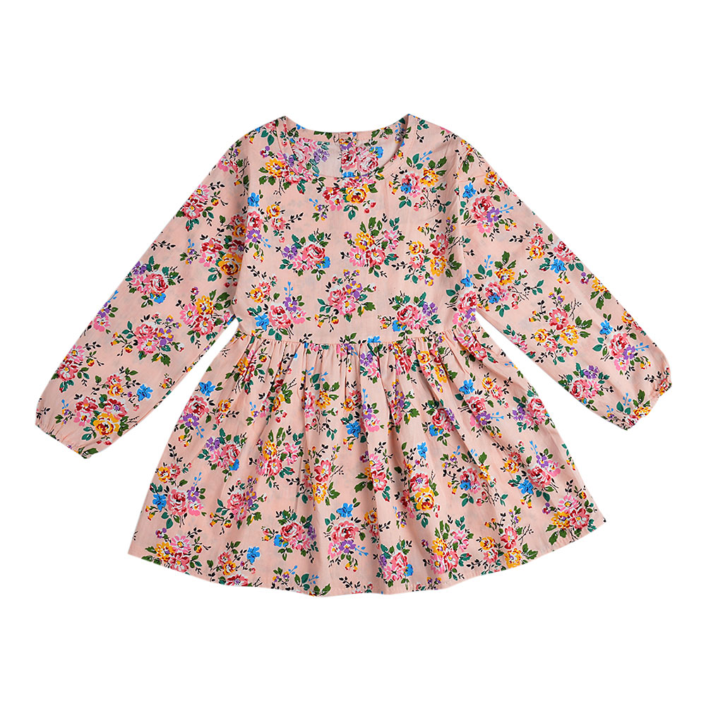 HTB10jRwXjDpK1RjSZFrq6y78VXap 2019 Autumn Girl Dress Cotton Long Sleeve Children Dresses Polka Dot Kids Dresses for Girls Fashion Girls Clothing
